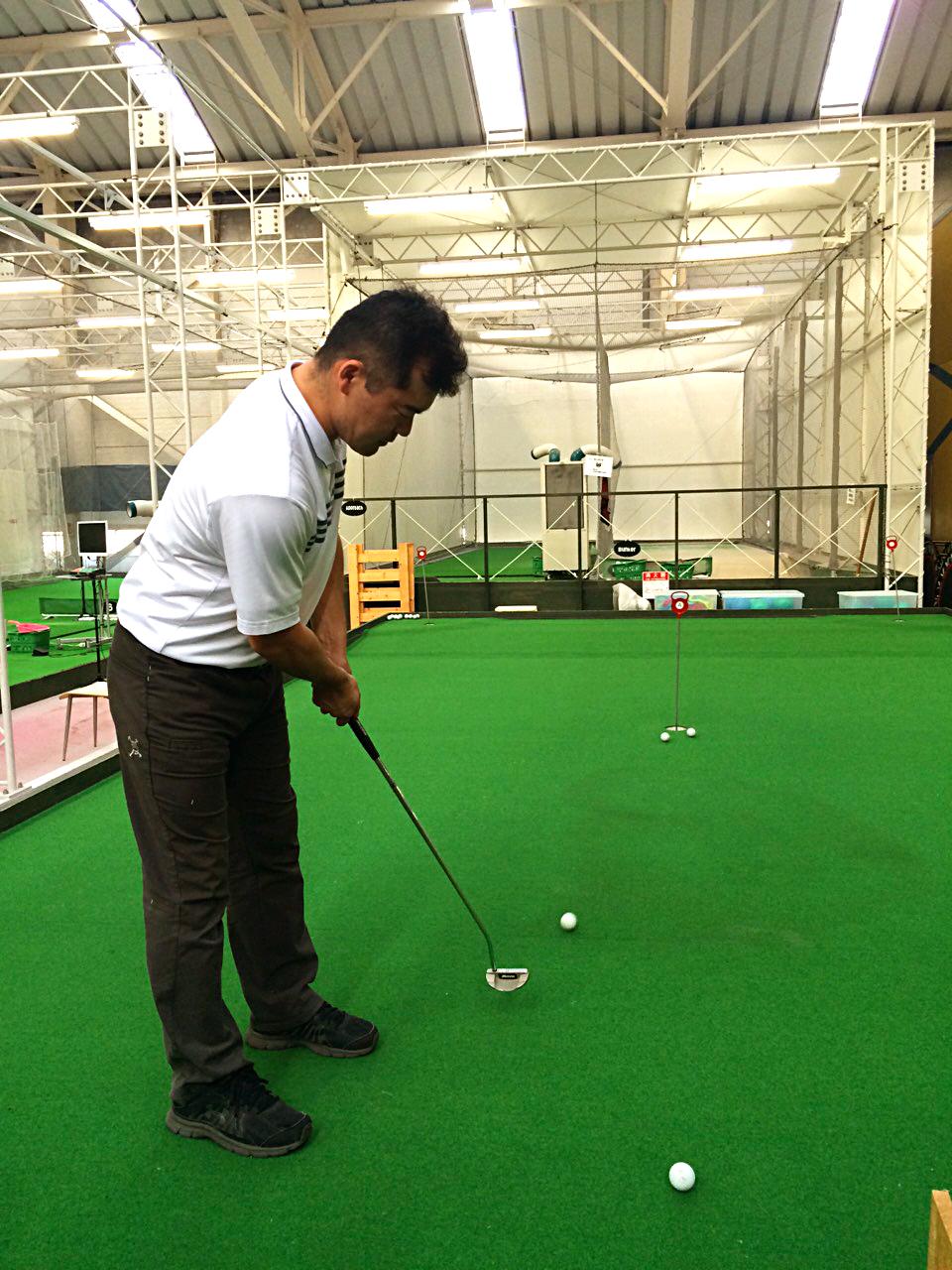 スコアアップに必須!パター練習【UGMゴルフスクール平野店】