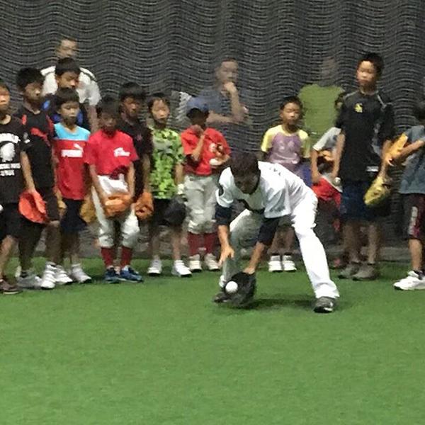 ミスタードラゴンズ!立浪和義さん指導の野球教室に参加【ジャパン・ベースボールカレッジ名古屋】