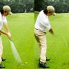 アイアンショット(打ち込む)【UGMゴルフスクール世田谷店・ゆうぽうと世田谷レクセンター】