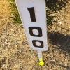 ヤード表示板にボールが止まった時【UGMゴルフスクール錦糸町店】