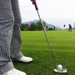 ラウンド朝のパター練習【UGMゴルフスクール/セントラルフィットネス岡崎店】