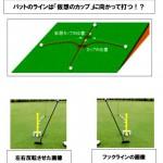 パター練習  コース編2【UGMゴルフスクール/セントラルフィットネス平野店】