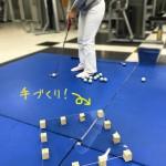 手作り練習器【UGMゴルフスクール/セントラルフィットネス岡崎店】