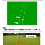 パター練習  コース編4【UGMゴルフスクール/セントラルフィットネス平野店】