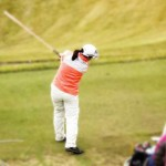 バット素振りでの注意点⑥ 2色カラーのバットでフェースの向きを確認【UGMゴルフスクール/ニッコースポーツ平野店】