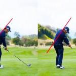 素振りの練習ドリル PART4 前傾キープの為の素振りの方法は?【UGMゴルフスクール/セントラルフィットネス平野店】