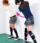 素振りの練習ドリル 壁にお尻を付けてシャドースイング②【UGMゴルフスクール/ニッコースポーツ平野店】