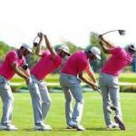 素振りの練習ドリル 壁に頭を付けてのシャドースイングの練習方法【UGMゴルフスクール/ニッコースポーツ平野店】