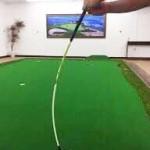 逆しなりを体感する為の練習器具【UGMゴルフスクール/セントラルフィットネス平野店】