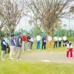 秋のコース実習 ~田中クラスレッスン風景の巻き~【UGMゴルフスクール/セントラルフィットネスいなす店】