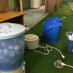 毎月のボール洗い【UGMゴルフスクール/ゆうぽうと世田谷レクセンター店】